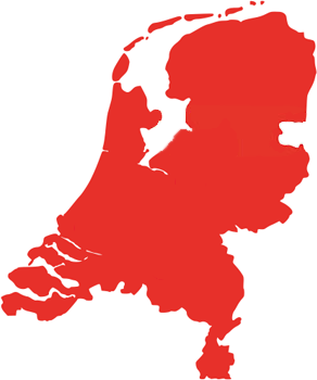 Map of Fundustry locations in The Netherlands