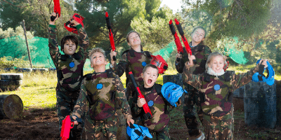 Preview Foto Kinderpaintball